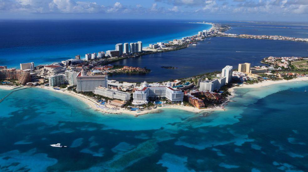Cancun pláže